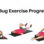Dead Bug Exercise Progression