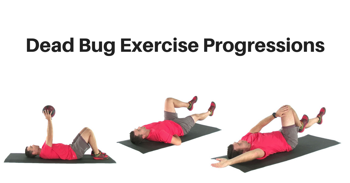 Dead Bug Exercise Progressions