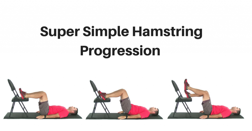 super simple hamstring exercise progression