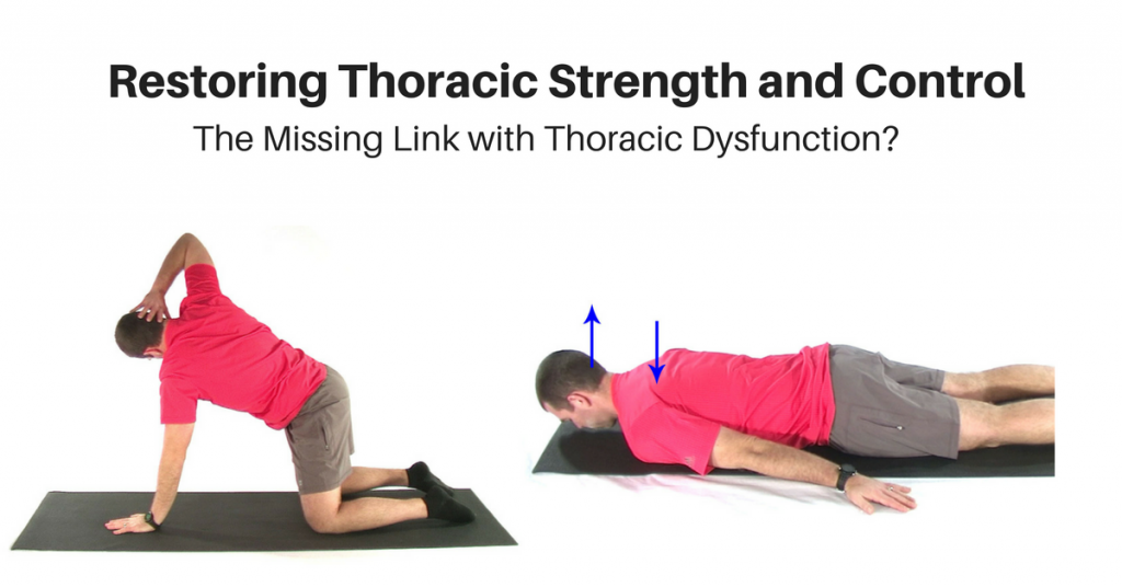 Thoracic Extension Strength and Control
