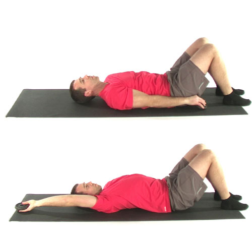 overhead active isolated stretching