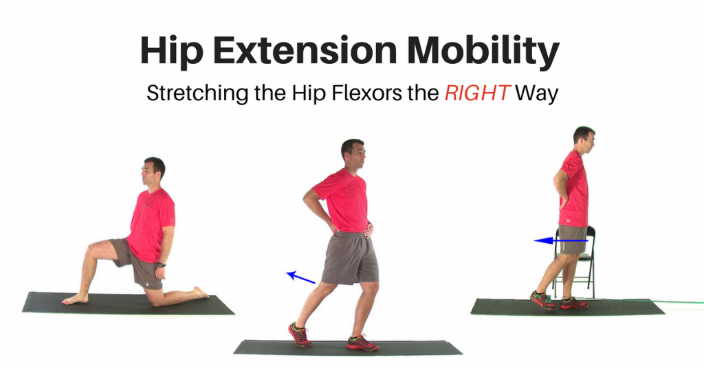 Correcting Hip Extension Mobility