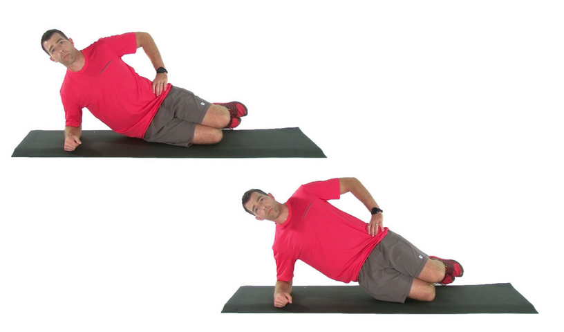 side bridge exercise progressions