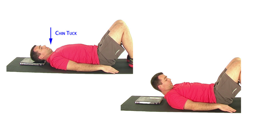 Neck Stability Exercises_ Supine Neck Flexion