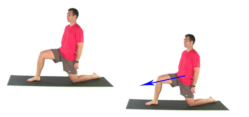 5 simple quad stretches - kneeling lunge quad stretch